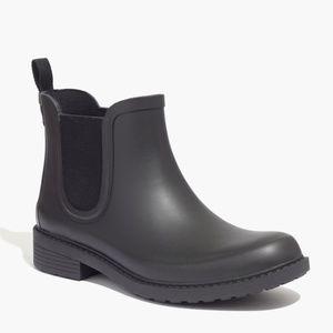 New MADEWELL Black Chelsea Rain Boots